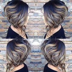 Short Inverted Bob Haircuts For Thick Hair