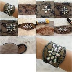 DIY Lace Bracelet Tutorial - Bing Images