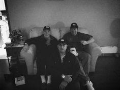 Ronníe Burris,Bobby and Denny Gress(three cousins)
