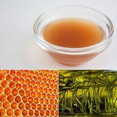 Summer/Swimmer Hair Treatment: Vinegar and Honey Hair Rinse