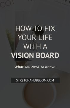Stuck in a rut? Here's how to use a vision board to fix your life. Manifestation Law Of Attraction, Law Of Attraction Tips, Self Development, Personal Development, Caring For Mums, Successful Entrepreneurs, Making A Vision Board, Finding Love, Self Improvement Tips