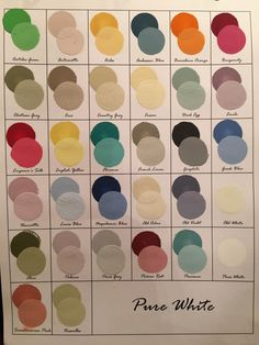 Mixing Colors With Chalk Paint®   961 Samples