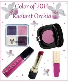 Need some recommendations for products for Pantone's Color of the Year, Radiant Orchid? Here are 5!