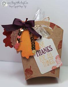 For All Things 1 - Stamp With Amy K - Fry Box