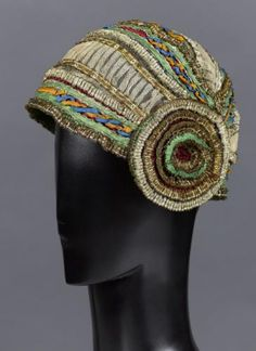 Bonnet, attributed to Paul Poiret designer, French, 1910