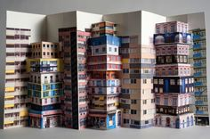 Pop Up Paper Architecture by Mathilde Nivet 1