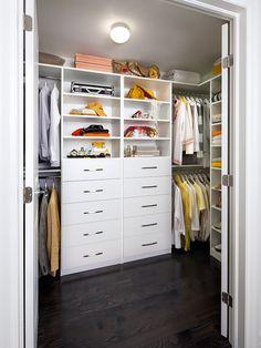 His And Hers Closet Organizer.