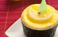 DULCE RECETAS: Recetas de Postres: Flan de limón en mini moldes