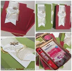 Anleitung Wellnessbox (Kreativ Blog by Claudi) Diy Presents, Presents For Mom, Diy Gifts, Stampin Up Christmas, Christmas Diy, Diy And Crafts, Paper Crafts, Cool Diy Projects, Stamping Up