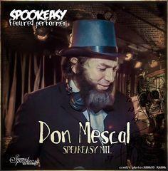 Don Mescal, resident dj du Speakeasy