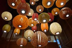 "The new trend in Berlin is the ""Soya Cosplay"", a modern chinese restaurant completely decorated with the Spiro and Poppy Lamps 