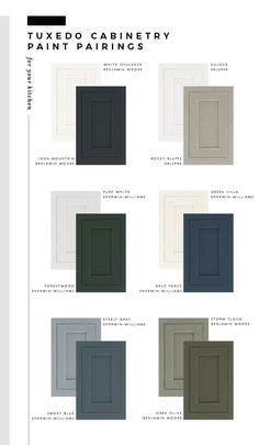 My Favorite Paint Colors for Kitchen Cabinetry - roomfortuesday.com #kitchencabinetry