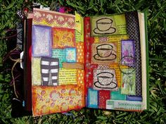 Altered Journal 59 by Phizzychick!, via Flickr