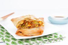 Chinese loempia's uit de oven - SKINNY SIX