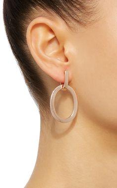 Aruba 18K Rose Gold Earrings by MATTIOLI Now Available on Moda Operandi