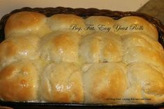 Cooking With Mary and Friends: Easy, Big Fat Yeast Rolls