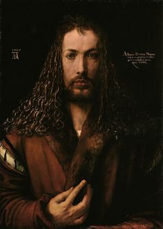 Self-Portrait, by Albrecht Dürer, 1500.