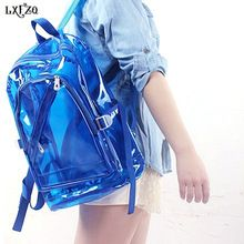 2017 NEW Waterproof Backpack Transparent Clear Plastic for Teenage Girls PVC School Bags Shoulders Bag space backpack notebook     Tag a friend who would love this!     FREE Shipping Worldwide     Get it here ---> http://fatekey.com/2017-new-waterproof-backpack-transparent-clear-plastic-for-teenage-girls-pvc-school-bags-shoulders-bag-space-backpack-notebook/    #handbags #bags #wallet #designerbag #clutches #tote #bag