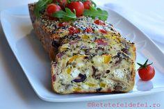 CHEC APERITIV - Rețete Fel de Fel Meatloaf, Banana Bread, Food And Drink, Cooking Recipes, Desserts, Tailgate Desserts, Deserts, Chef Recipes, Postres