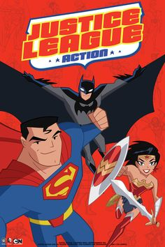 """Kevin Conroy and Mark Hamill will reprise their roles as Batman and The Joker in """"Justice League Action,"""" a new animated Cartoon Network series Justice League Animated, New Justice League, Cartoon Network, Mark Hamill, Aquaman, Dc Animated Series, Cadena Cartoon, Mundo Superman, Comics"""