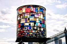 Visit This Kaleidoscopic Water Tower - Design - The Atlantic Cities