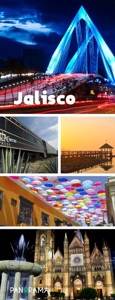 Jalisco de vuelve cada vez más popular y no es para menos. El Puente Matute Remus, el José Cuervo Express, El Lago de Chapala, Tlaquepaque y el Templo Expiatorio del Santísimo Sacramento son solo algunos de los atractivos turísticos del lugar.  #PanoramaMx #matuteremus #puente #bridge #guadalajara #mexico  #arquitectura #arquitecture #viaje #viajes #viajando #viajar #viajeros #trips #roadtrip #travel #travels #travelpic #travelpics