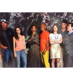 """Man do we ever love these reunions."" 