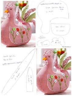 http://www.artecomquiane.com/2014/03/coruja-de-tecido.html