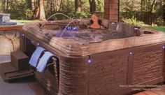 Madrid Hot Tub by Strong Spas