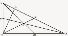 Matematică - rezolvări detaliate: Distanța dintre ortocentru și centrul de greutate