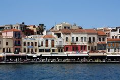 Chania auf der Insel Kreta | Stock-Foto | Colourbox on Colourbox Stock Foto, Mansions, House Styles, Photos, Photomontage, Islands, Spain, Pictures, Mansion Houses