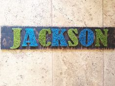 Custom 2 Name String Art by nidification on Etsy
