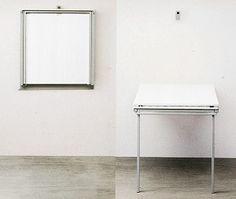 Trasformabili & consolle Tavolo a muro pieghevole, con ribalta allungabile.  http://www.idea-piu.com/store/1/tavolini-tavoliconsole-trasformabili-in-tavoli-pranzo-827