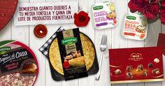 """¡Participa en """"Mi media tortilla"""" y podrás ganar un estupendo lote de productos Fuentetaja!"""
