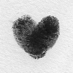 love, heart, and fingerprint kép