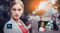 Photoshop Tutorial   Camera RAW Filter   Adobe Photoshop CC 2017