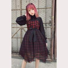 "Souffle Song ""Metal Vivian"" Lolita Dress JSK (with free girdle)"