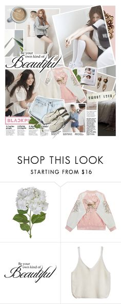 """BLΛƆKPIИK - Morning"" by anniiebee ❤ liked on Polyvore featuring Sia, WALL, WithChic, Garance Doré and botkpg"