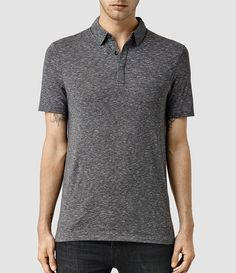 Mens Audit Polo (Charcoal/Grey Marl) - product_image_alt_text_1
