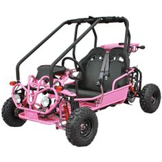 The Kandi Mini Powersport is our most popular gokart, offering a gas-powered, trouble-free alternative to battery operated ride-on toys. Perfect for kids, the 90B is loaded with safety features at no additional cost, including sturdy brush bars and side guard to help protect occupants, lights, blinkers, horn and dual seatbelts. #gokart #adventure #christmas