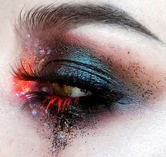 Eye Makeup - Eye Makeup - Sagittarius make-up. Zippertravel - Health Beauty, Makeup, Eyes - Ten Different Ways of Eye Makeup Makeup Goals, Makeup Inspo, Makeup Art, Beauty Makeup, Hair Makeup, Makeup Ideas, Makeup Tutorials, Red Makeup, Crazy Makeup