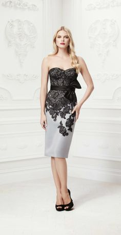 Truly Zac Posen 2014 Bridesmaid Dresses at David's Bridal | bellethemagazine.com