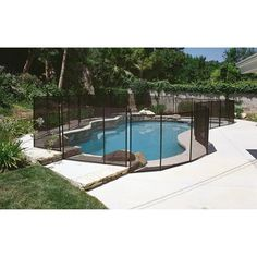 Safety Fence for In-ground Pools, 4' x 12'