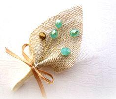 Mint or Seafoam and Metallic Gold Wedding Men by GroomsCorner, $9.00