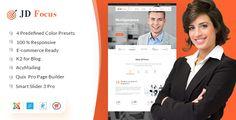 JD Focus - Multipurpose Joomla Business & eCommerce Template