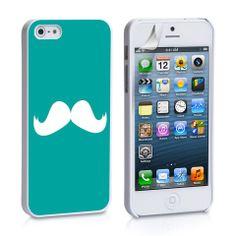 Mustache iPhone 4, 4S, 5, 5C, 5S Samsung Galaxy S2, S3, S4 Case – iCasesStore