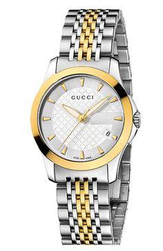 ce3d5ba66c9 Gucci  G Timeless  Small Bracelet Watch