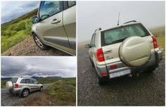 One of our SADcars driving in Iceland. Photo by Hecktic Travels.