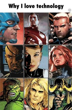 Avengers comic to movie gif