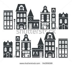 amsterdam silhouette buildings - Google Search